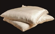 100% Pure Silk Pillow Low Loft