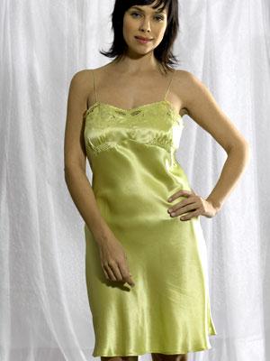 Silk Chemise B12 Hand Embroidered Silk Nightwear Silk